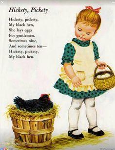 #NurseryRhyme: my black hen