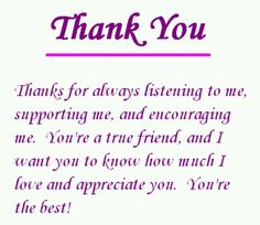 thank you thank you quotes for friends best friend poems thank you quotes for