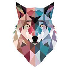 Geo wolf t-shirt paint swatch art, paint swatches, cute wallpapers, wallpap Paint Swatch Art, Paint Swatches, Wolf Canvas, Canvas Art, Removable Wall Murals, Geometric Graphic, Geometric Shapes, Graphic Art, Modern Art Prints