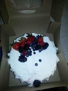 Whole Foods Berry Chantilly Cake is my favorite cake ever. Wish I ...