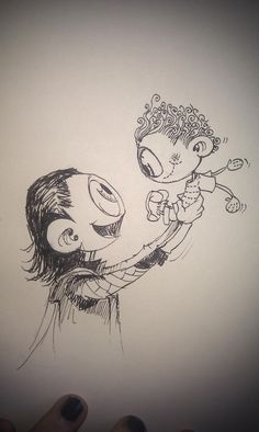 Little Hiddles with his stuffed Hiddles drawn by someone on Twitter Jan 23, 2013 (Hashtag_Genius ??)