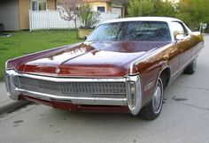 1972 Chrysler Imperial LeBaron.
