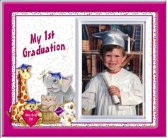 My First Graduation  Friends Back to School Picture Frame Gift * You can get more details by clicking on the image.