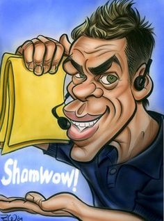 Shamwow guy by Zack Wallenfang