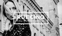RUE CINQ Branding www.ruecinq.com