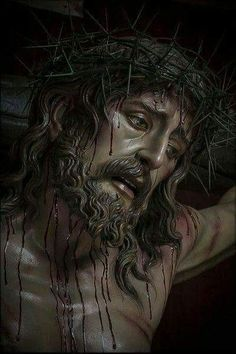 Christ Tattoo, Jesus Tattoo, Pictures Of Jesus Christ, Jesus Christ Images, Life Of Jesus Christ, Jesus E Maria, Jesus Painting, Religious Tattoos, Jesus Face