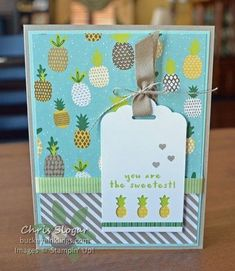 Fruit Basket from the Tutti Frutti Suite, Stampin' Up!