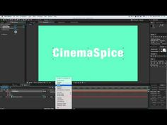 after effects quick tips - Text reveal without masks or track mattes in After Effects - YouTube