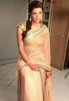 Kajal Aggarwal photoshoot@In saree