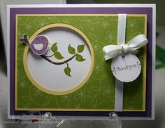 Cheep Talk Thanks by erinbh - Cards and Paper Crafts at Splitcoaststampers
