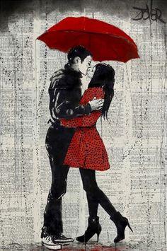 Framed Rain Kisses Print
