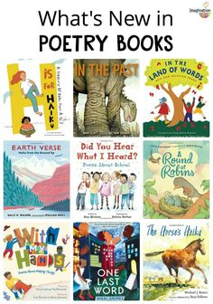 new poetry books for kids that you don't want to miss (2018) #kids #poetry #childrensbooks