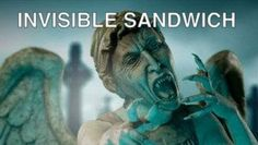 Doctor Who Weeping Angel Invisible Sandwich.