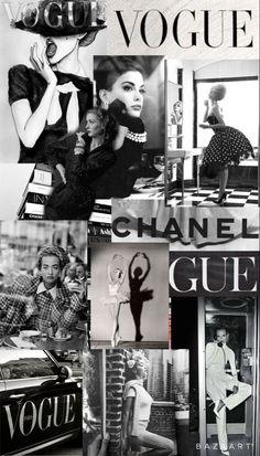 Fashion art collage layout, Fashion Art Collage, Collage Art, VOGUE reflections