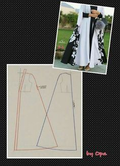 Long outer Jubah panjang