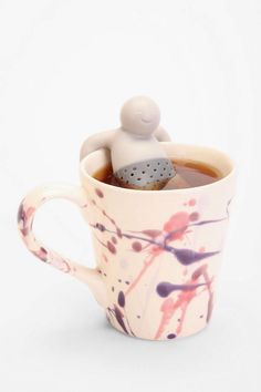 Tea Infuser from Urban Outfitters. Shop more products from Urban Outfitters on Wanelo. Kitchen Accessories, Decorative Accessories, Food Storage Organization, Tea Infuser, Personalized Mugs, Dinnerware Sets, Glass Containers, Reusable Bags, Fun Drinks