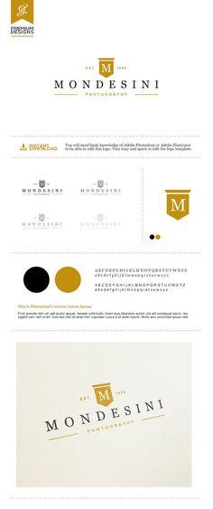 Photography Logo Design Photography. DIY Logo by GraphicFlava
