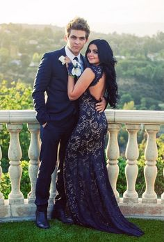 love her dress see through prom dress, prom couples, prom pictures Prom Dress With Train, Open Back Prom Dresses, V Neck Prom Dresses, Elegant Prom Dresses, Mermaid Prom Dresses, Homecoming Dresses, Dress Prom, Dress Lace, Evening Dresses