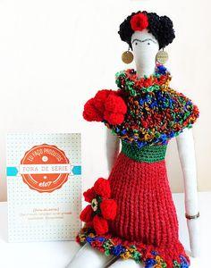 boneca-de-pano-frida-kahlo-frete-gratis