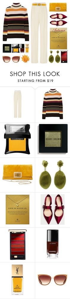 """""""The Colors of Autumn"""" by pattykake ❤ liked on Polyvore featuring Lanvin, Paul & Joe, Illamasqua, Bobbi Brown Cosmetics, Roger Vivier, Marco Bicego, Dogeared, L'Oréal Paris, Yves Saint Laurent and Barton Perreira"""