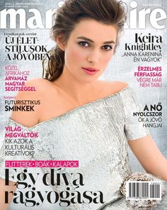 Keira Knightley for Marie Claire Hungary January 2013