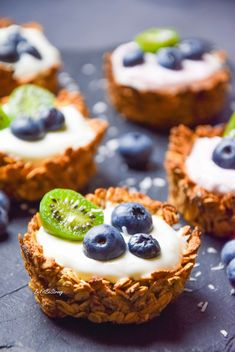 Healthy Dessert Recipes, Healthy Desserts, Easy Desserts, Cookie Recipes, Snack Recipes, Helathy Food, Food Crush, Food Dishes, Love Food
