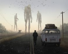 bird people 1 by stefan koidl Spectrum The Best in Contemporary Fantastic Art Dark Fantasy Art, Foto Fantasy, Arte Horror, Horror Art, Horror Movies, Fantasy Creatures, Mythical Creatures, Art Café, Creepy Images