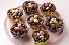 Chocolate cornflake nests recipe - goodtoknow