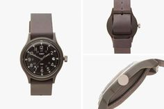 This Military-Inspired Watch From Timex x Carhartt Is Less Than $70 • Gear Patrol Field Watches, Carhartt Wip, Smart Watch, Military, Mens Fashion, Inspired, Outfit, Moda Masculina, Outfits