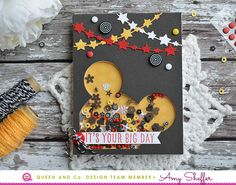 It's Your Big Day | Queen & Co. Mickey Mouse Foam Front Shaker