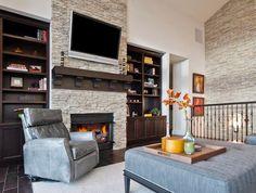 TV above Firelace