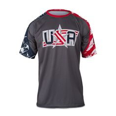 Boombah Full Dye Shirt USA 2015 Men's Softball, Dye Shirt, Men's Apparel, Usa, Shirts, Ideas, Tops, Fashion, Moda