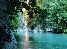 Acheron River in Epirus, Greece Greece Vacation, Greece Travel, Arcadia Greece, Places In Greece, Greece Destinations, Wonderful Places, Amazing Places, Beautiful Images, Trip Planning