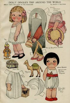 TOYLAND Magazine: Dolly Dingle paper doll