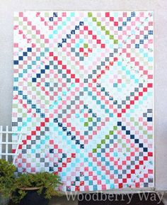Woodberry Way: Gooseberry Scrappy Trip Quilt