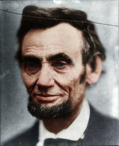 Lincoln:  Colorized Historical Photos (w/ Churchill, Einstein, Hepburn, Lincoln, Darwin, Welles, Chaplin + more) > Fashion / Lifestyle, Film-/ Fotokun...