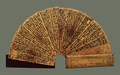 Burmese Buddhist Manuscript kammawa or kammavaca - Richly decorated and in excellent condition, this is the best example of these unusual manuscripts weve seen in a long time. This one is particularly ...