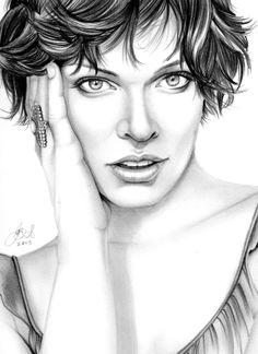 Pencil Drawings by Brent Woll, via Behance     First pinned to Celebrity Art board here... http://www.pinterest.com/fairbanksgrafix/celebrity-art/ #Drawing #Art #CelebrityArt