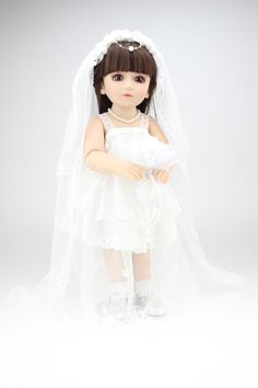 Wedding Bride and Bridegroom Doll 18Inch Cheap Vinyl Reborn Baby Dolls Collectible Doll Baby Reborn Fashion Doll Christmas Gift