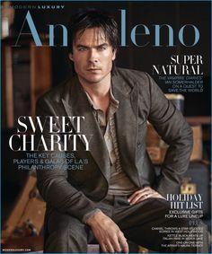 Ian Somerhalder covers the November 2016 issue of Modern Luxury Angeleno.