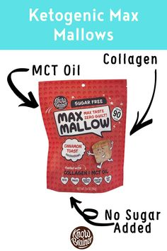 These keto marshmallows (Max Mallow) collogen, Non-GMO MCT oil, and zero sugar. Its keto because it is low carb/high fat. Made with healthy fats so you can use it as fat fuel. Brain Boosting Foods, Grass Fed Ghee, Mint Extract, Collagen Protein, Organic Chocolate, Toasted Marshmallow, Coffee Tasting, Mct Oil, Lactose Free