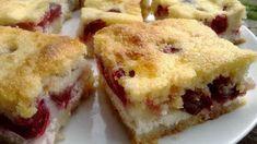 Rubin Konyhája: Lusta asszony meggyes-túrós rétese Lasagna, Quiche, Biscuits, Muffin, Breakfast, Ethnic Recipes, Food, Savory Snacks, Gastronomia
