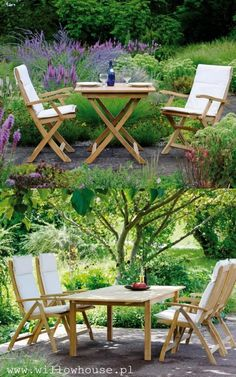 MALAGA teakowe meble ogrodowe STERN