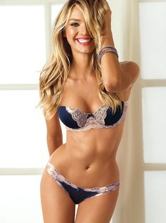 Candice Swanepoel Thong | Candice Swanepoel for Victoria's Secret Lingerie, January 2013 (part ...