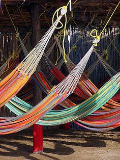 Hammocks at Guajira, Colombia