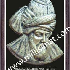 Mevlânâ Celâleddîn-i Rûmî (Farsça: مولانا جلال الدين رومي/Mevlânâ Celâleddîn-i Rûmî; 30 Eylül 1207, Belh - 17 Aralık 1273, Konya) şâir düşünce adamı ve mutasavvıf. Tasavvufta Mevlevî yolunun öncüsüdür.  Mevlana portresini ve Mevlana Türbesini ilk defa yaptıran Prenses Gürcü Hatun ile yakın dosttur.  Bilinen tek Mevlânâ portresinin ve Mevlânâ türbelerinin ortaya çıkışı bu şekilde olmuştur. www.millisanat.com