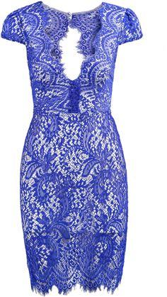 Floral Crochet Backless Lace Dress