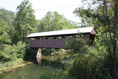 Hokes Mill Covered Bridge,    Greenbrier County, West Virginia