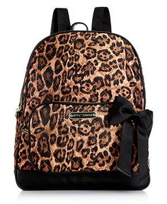 Betsey Johnson Handbag, Animal Quilted Backpack - Betsey Johnson - Handbags & Accessories - Macy's