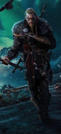 Viking Wallpaper, Assassin's Creed Wallpaper, 4k Gaming Wallpaper, Best Gaming Wallpapers, Game Wallpaper Iphone, Iphone Wallpapers, Vikings, Arte Zombie, Assassins Creed Series
